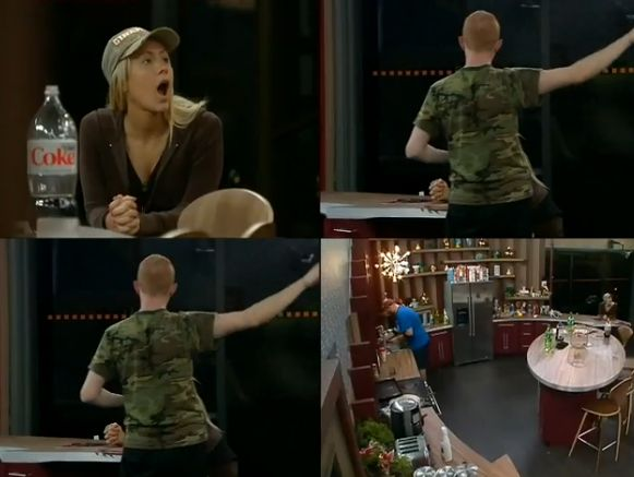 GM reacts to Andy's retelling