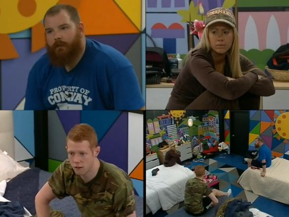 HGs discuss the comp