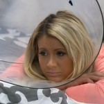 GinaMarie wears a cone 03