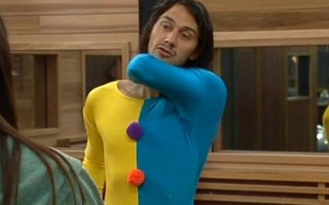 Big Brother 15 McCrae as a clown