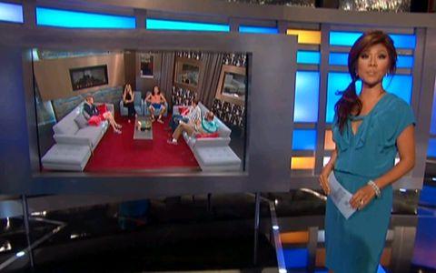 Julie Chen on Big Brother 15