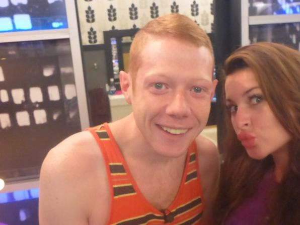 Andy and Elissa