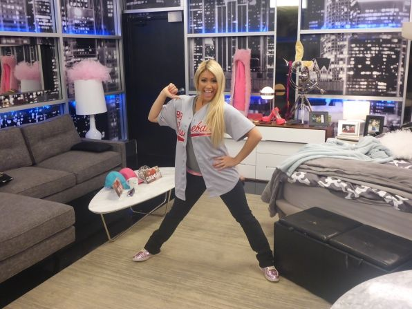 GinaMarie was back in charge