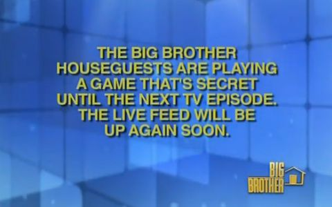 Big Brother HGs playing a game