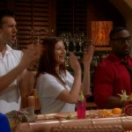 Brendon, Rachel, & Howard cheer on Bold & Beautiful