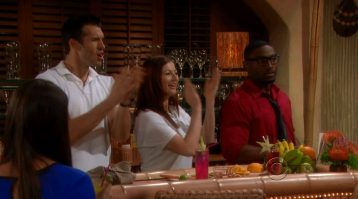 Brendon, Rachel, & Howard cheer on Bold & Beautiful