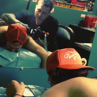 McCrae gets his BB tattoo