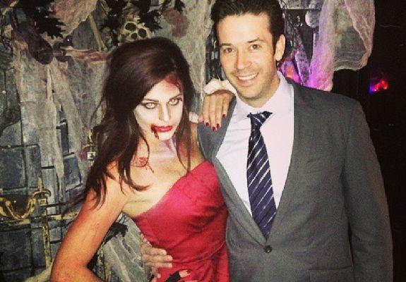 Kaitlin Barnaby & James Rhine – Halloween