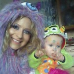 BB9's Natalie & her baby
