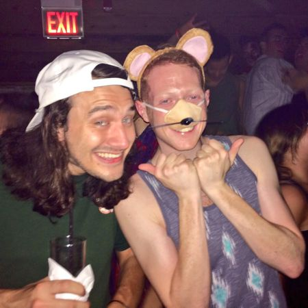 McCrae and Andy as a rat