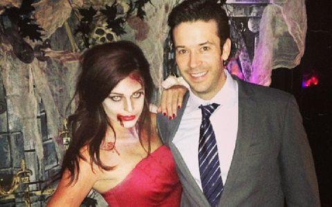 Kaitlin and James - Big Brother Halloween