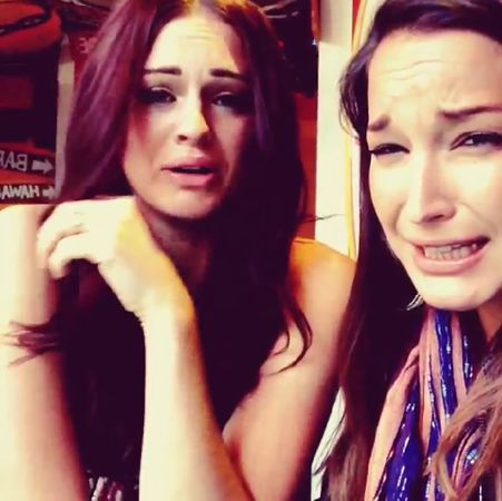Jessie & Kaitlin react to shots