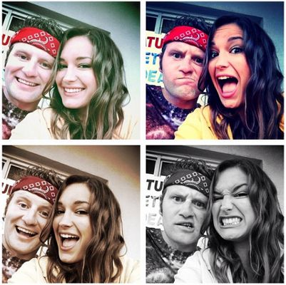 Jessie and Judd do the PhotoBooth again