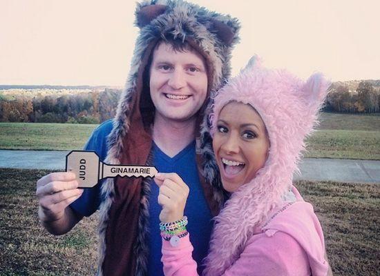 Judd gets a bear hat & his key