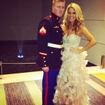 Aaryn Gries poses with her date
