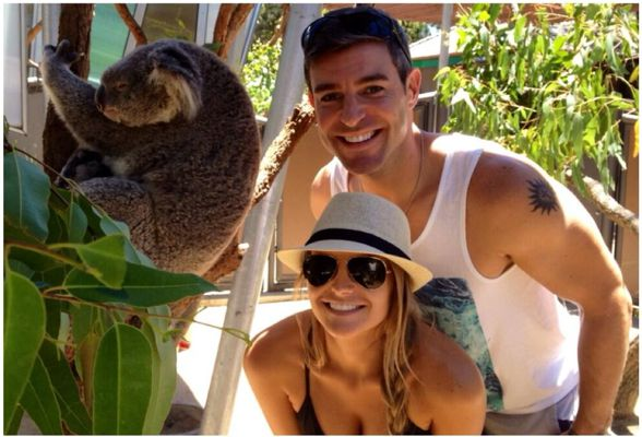 Jeff and Jordan meet a koala