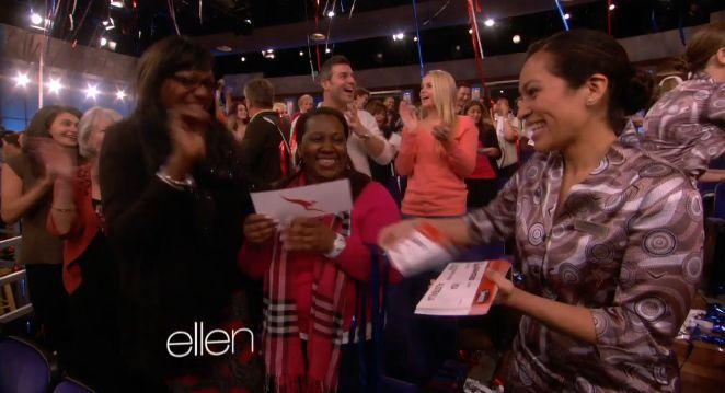 Jeff & Jordan at The Ellen Show