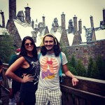 Amanda and McCrae out for fun