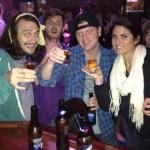 McCrae, Judd, & Amanda take shots
