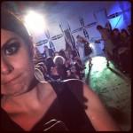 Amanda at a fashion show