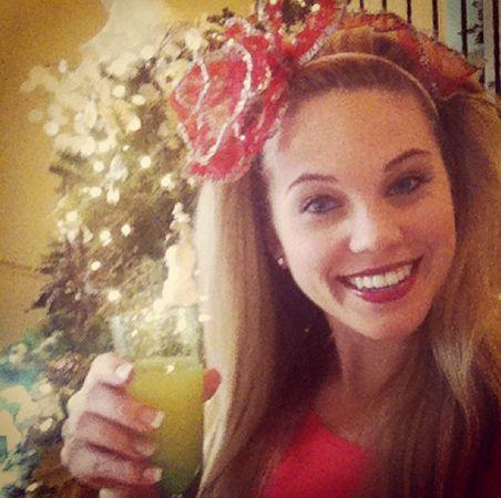 Aaryn celebrates Christmas