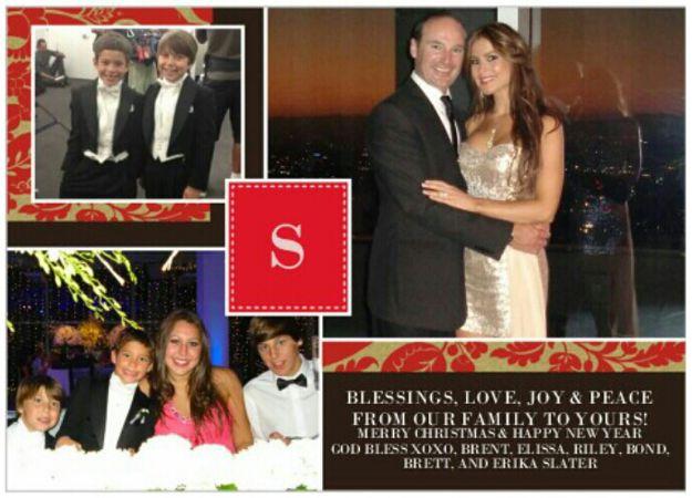 Elissa Slater's Christmas card