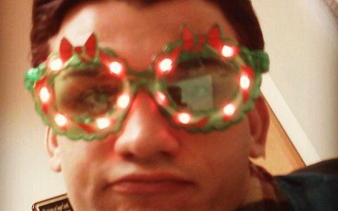 Jeremy McGuire celebrates Christmas