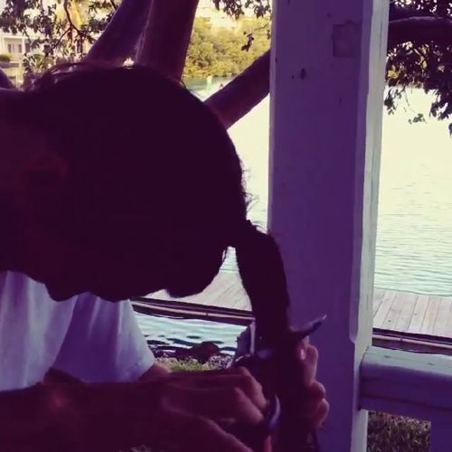 McCrae cuts his hair