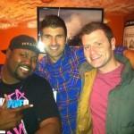 Shane & Judd with Gene