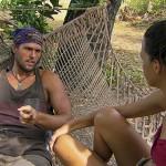 Hayden talks with Ciera on Survivor