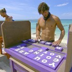 Hayden works his challenge puzzle
