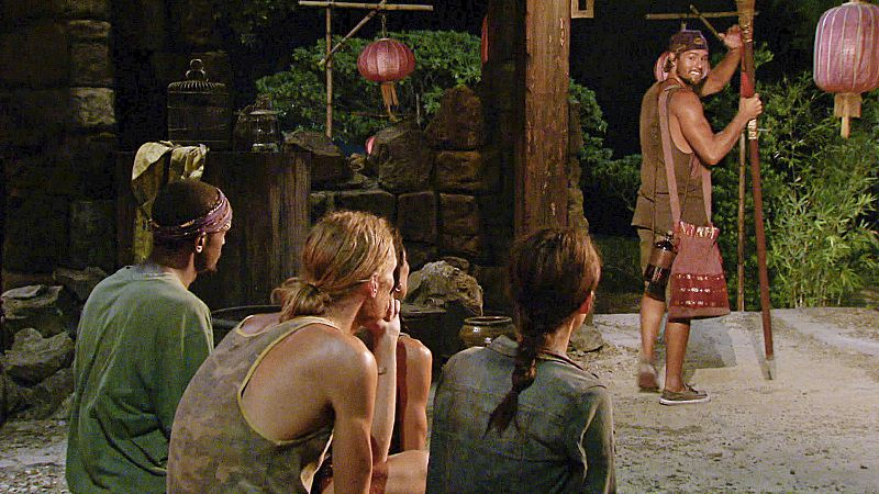 Hayden is voted out at Tribal Council