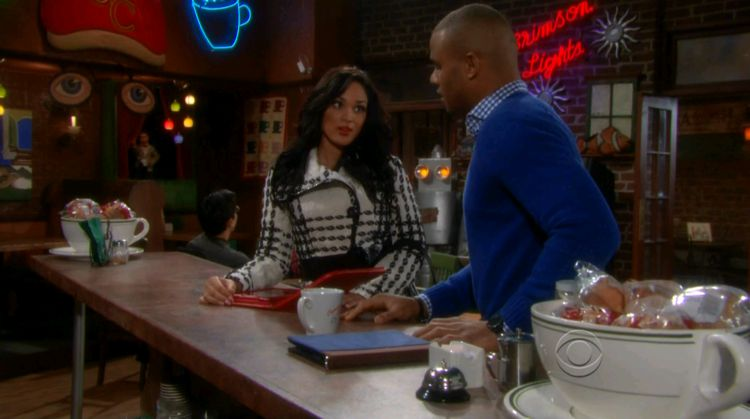 Candice Stewart on The Young & The Restless 01