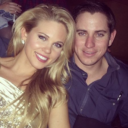 Aaryn Gries & her date on New Year's