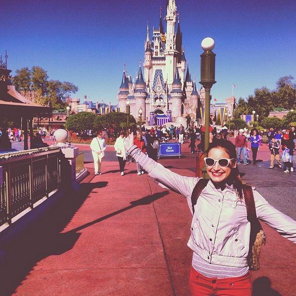 Jessie heads to the Cinderella Castle