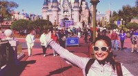 Jessie Kowalski at Walt Disney World