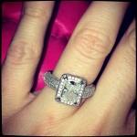McCranda engaged? Amanda flashes a ring