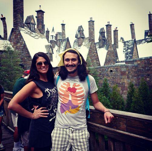 Amanda and McCrae on vacation
