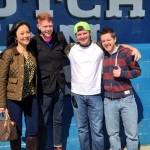 Helen, Andy, Judd, & Matt in Chicago