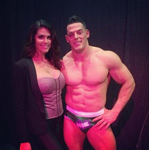Amanda Zuckerman with Jessie Godderz
