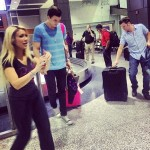 Big Brother 15 HGs at the airport