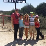 Jeremy, Jessie, Aaryn, Judd, & GM at the ranch