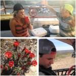 Ranch visit collage