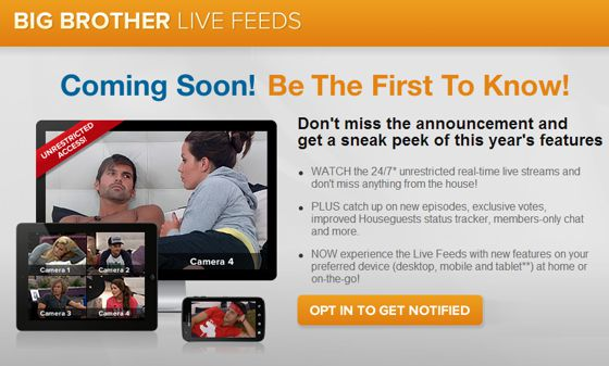 Big Brother 16 Live Feeds promo