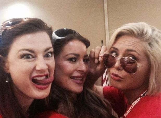 Rachel, Elissa, and Kat