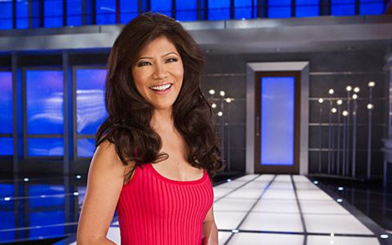 Julie Chen at the Big Brother house