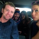 Judd, McCrae, Talla, & Liza together