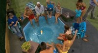 Big Brother 16 HGs enjoy the hot tub