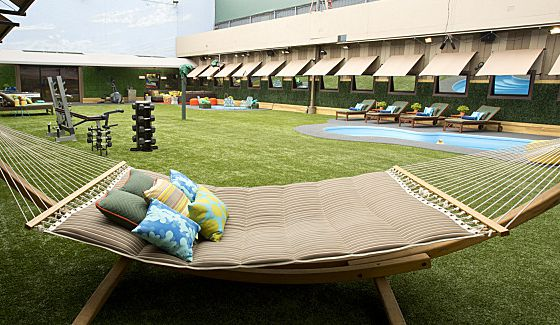 Big Brother 16 backyard hammock