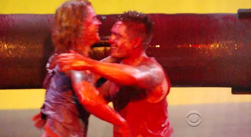 Hayden and Caleb after HoH comp